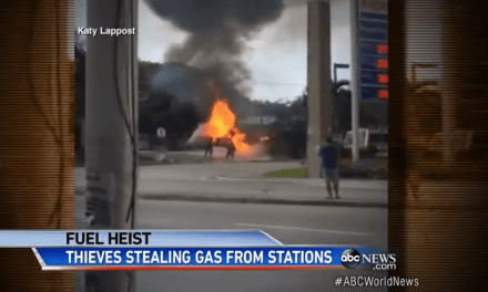 Miami Gas Station Blows Up After Gas Theft