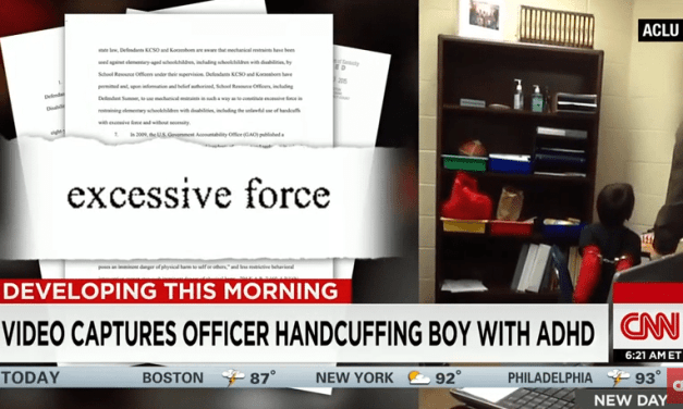 Eight Year Old With ADHD Handcuffed by Police Officer