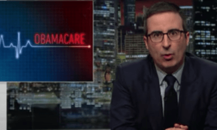 John Oliver Talks About Obamacare