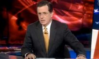 Stephan Colbert Talks about Bret Favre's Sexting Ways!