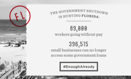 Here is a Couple Facts About the Shutdown and Florida