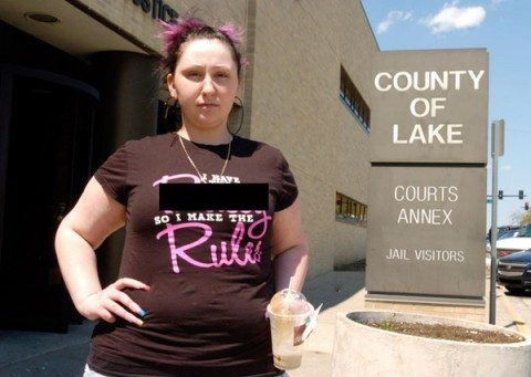 Offensive T-Shirt Lands Girl in the Tank…