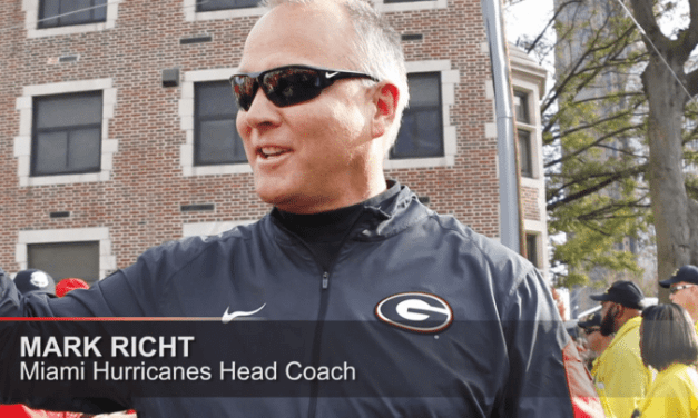 Mark Richt Is The New Head Coach For Miami Hurricanes