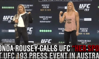 Ronda Rousey Brought Her Swagger To Australia