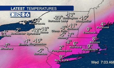 In case you didn't know… New York is FREEZING