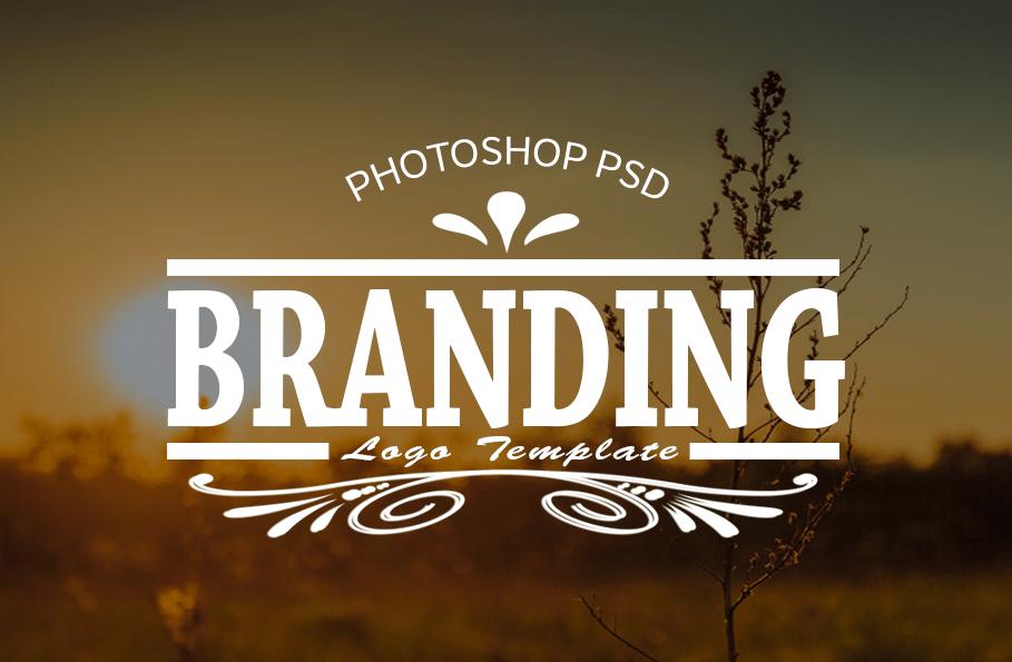 Photoshop PSD Branding Logo Templates