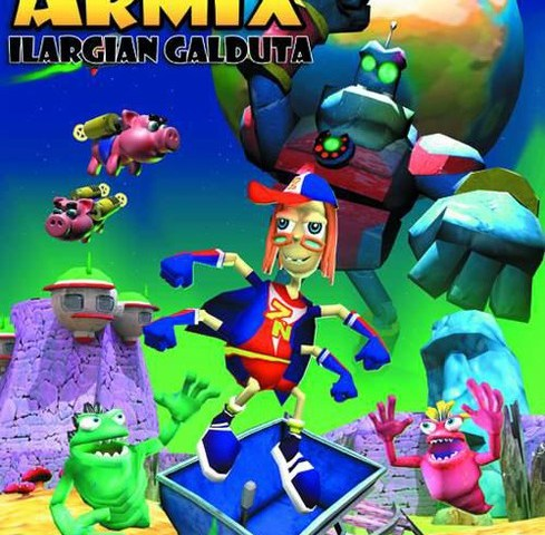Armix es una saga de videojuegos en euskera
