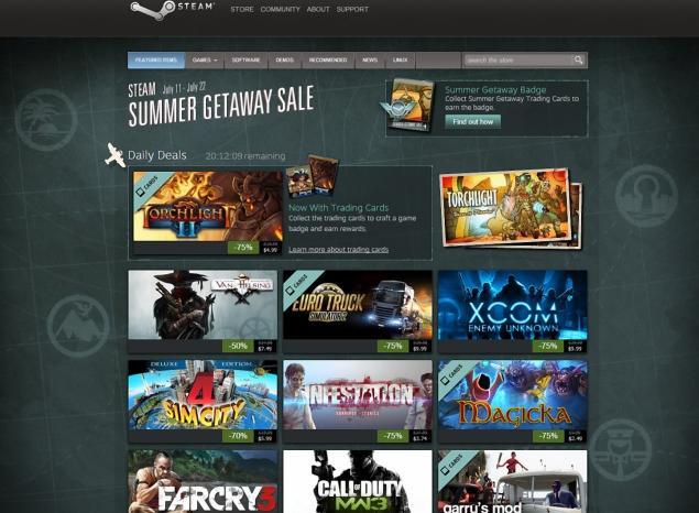 Steam renueva cada poco sus ofertas de videojuegos