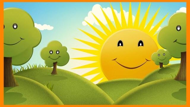 ФУТАЖ Happy Cartoon Full HD