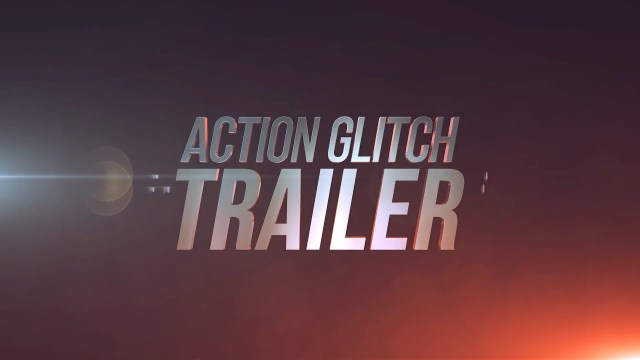 Проект After Effects — Action Glitch Trailerl