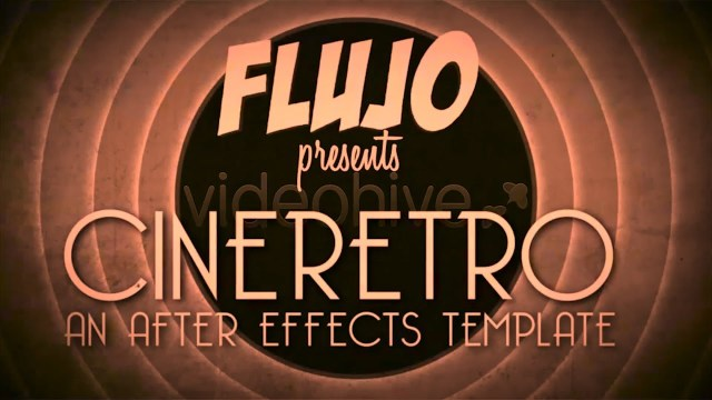 Проект After Effects — CineRetro