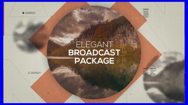 Проект After Effects — Elegant Broadcast Package