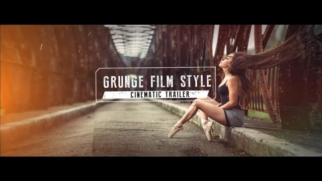Проект After Effects — Grunge Film Style