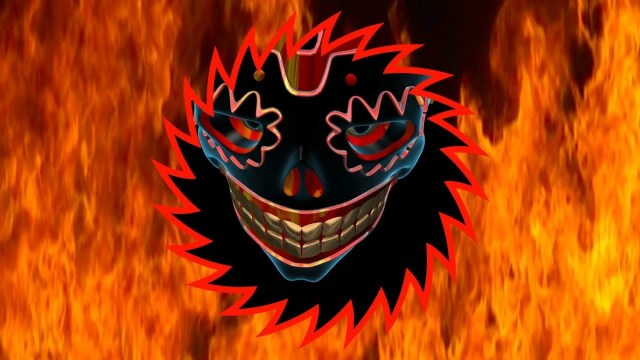 FOOTAGE MASK ON FIRE — Full HD 1080p