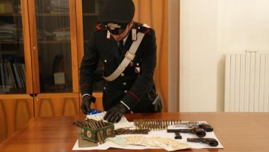 Photo of San Gennaro Vesuviano – Arresto per detenzione illegale di arma da fuoco e munizioni