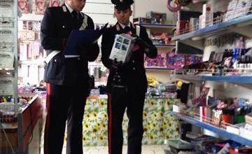 Photo of Pomigliano D'Arco – I carabinieri sequestrano oltre 15mila prodotti senza marchio CE