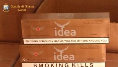 Photo of Salerno – Porto: sequestrate 7 tonnellate di sigarette di contrabbando