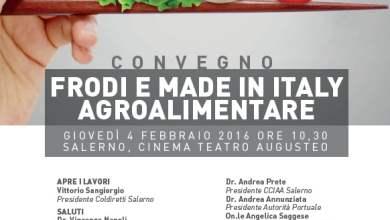 "Photo of Salerno – ""Frodi e Made in Italy agroalimentare"""