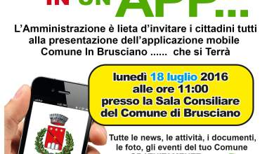 """Photo of Brusciano – Lunedì presentazione della """"App"""" ufficiale della città """"ComuneInBrusciano"""