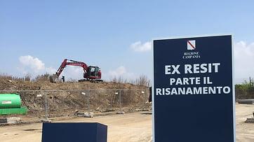 Photo of Giugliano – Messa in sicurezza discarica ex RESIT
