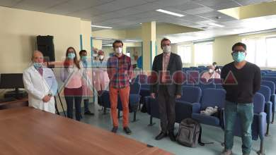 Photo of Boscotrecase – l'equipe tedesca lascia il Covid Hospital