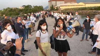 Photo of Castellammare di Stabia – Flash mob per dire basta all'inquinamento del Sarno