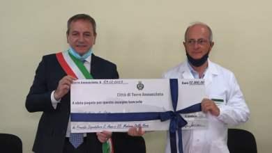 Photo of Torre Annunziata – L'amministrazione comunale dona 12mila euro al Covid Hospital di Boscotrecase