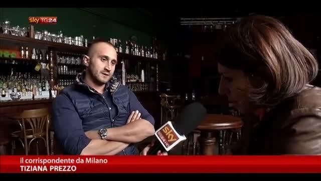 Capo Ultras del Milan a Sky TG24 Speziale  innocente