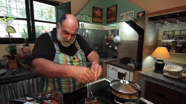 Giorgione orto e cucina 11  Video Sky