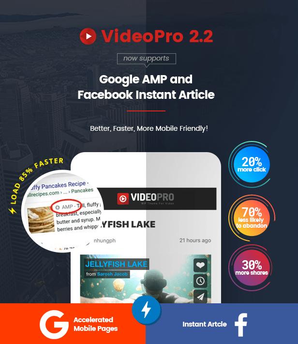 VideoPro - Video WordPress Theme - 9
