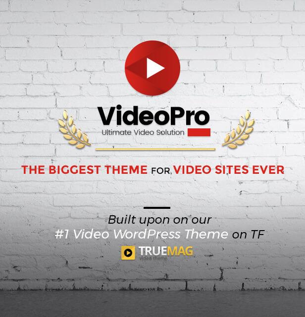 VideoPro - Video WordPress Theme - 10