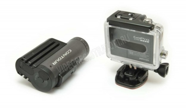 Экшн камеры GoPro HERO3 Black Edition и Contour+2