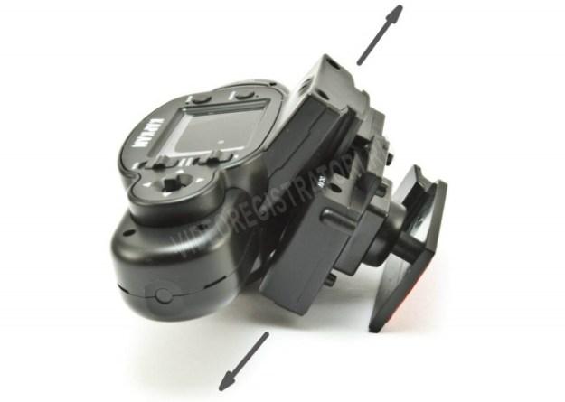Автомобильный видеорегистратор Каркам QX3 Neo - как снимать