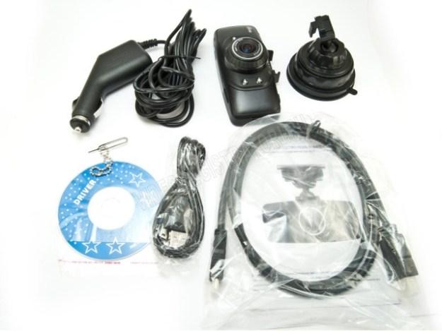 Видеорегистратор Ritmix AVR-929 Комплектация