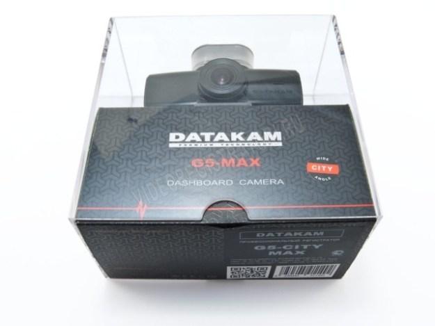 Видеорегистратор DATAKAM G5-City-Max - коробка