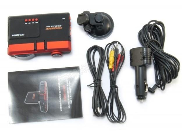Видеорегистратор с радар-детектором Conqueror GPS-1698H - комплектация