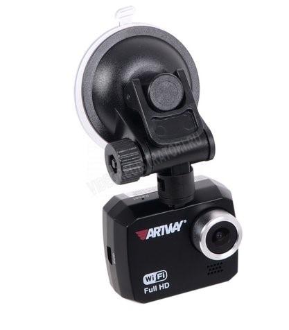 Обзор видеорегистратора Artway AV-507. Присоска