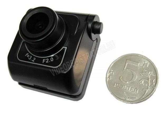 Обзор видеорегистратора Prestige DVR-492. Размер камеры