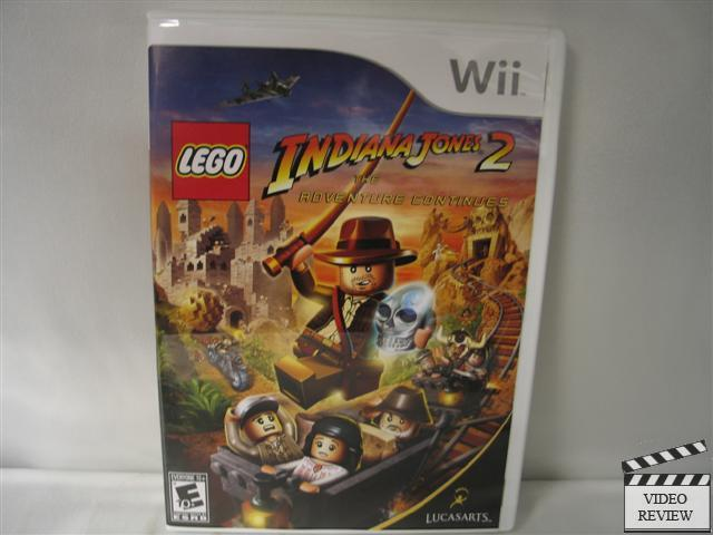 Lego Indiana Jones 2 Wii Fastgames Gamers Levados A Srio
