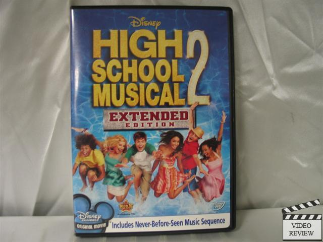 High School Musical 2 (dvd, 2007, Extended Edition