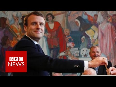 BREAKING: French election – Macron defeats Le Pen to become president – BBC News