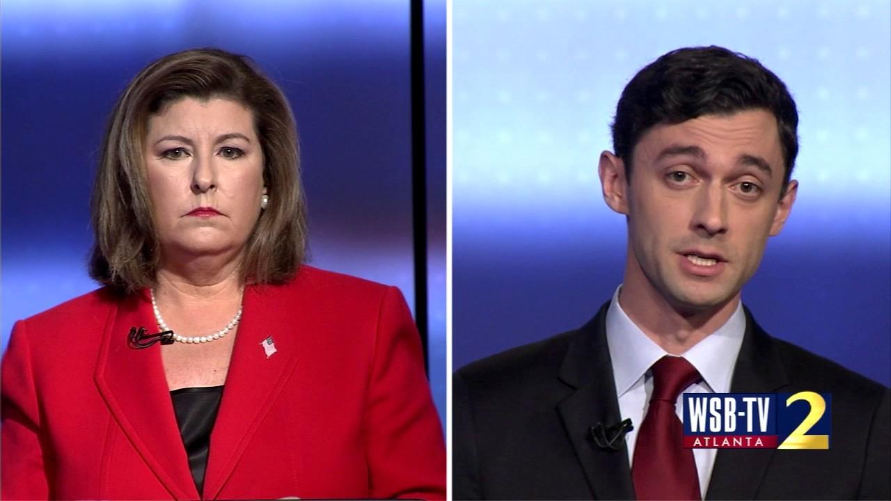 "Georgia Republican Candidate Karen Handel: ""I do not support a livable wage"" WSB-TV June 6th 2017"