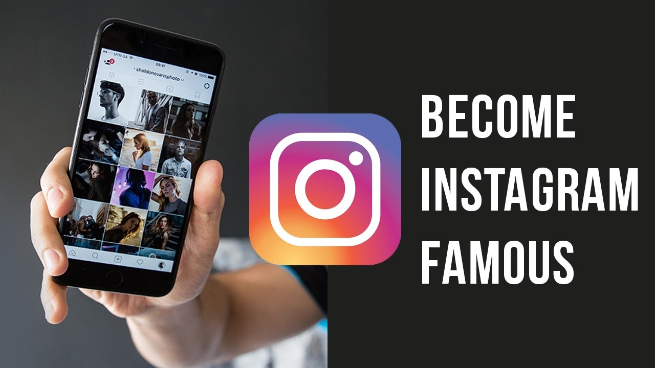 how can i be famous on instagram
