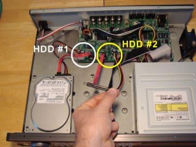 cctv dvr wiring diagram 110cc wire harness surveillance hard drive installation