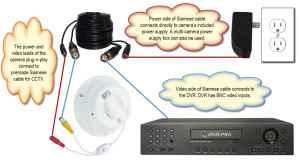 How to Install a Hidden Smoke Detector Security Camera
