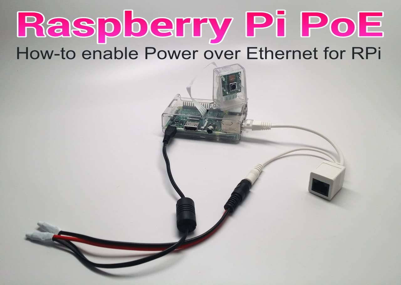 Raspberry Pi Power Over Ethernet Wiring