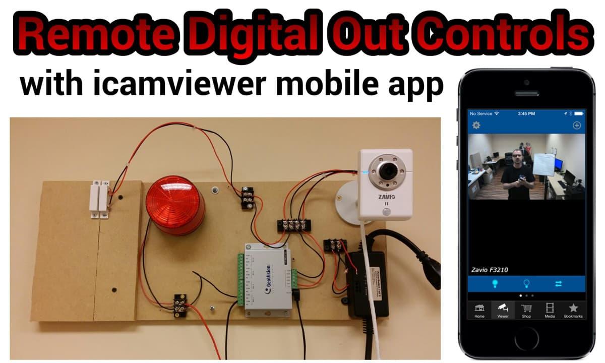 hight resolution of remote sensor controls mobile app