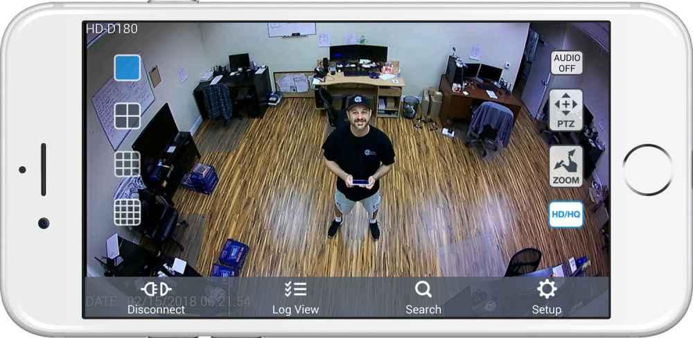 medium resolution of security camera view iphone
