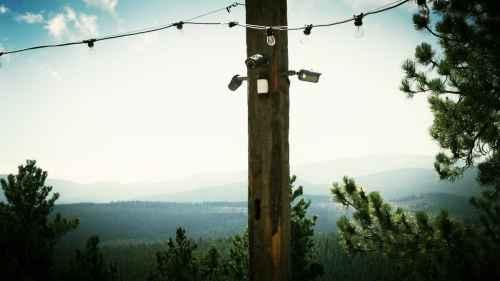 small resolution of video surveillance system with outdoor pir motion sensor integration
