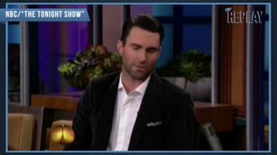 Adam Levine Talks Engagement To Victoria's Secret Model Behati Prinsloo (VIDEO)[1]